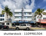 miami beach  florida   june 9 ... | Shutterstock . vector #1109981504