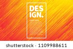 dynamic flow brigt vivid orange ... | Shutterstock .eps vector #1109988611