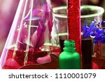 scientist doing a research with ... | Shutterstock . vector #1110001079