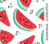 minimal summer trendy vector... | Shutterstock .eps vector #1110015914