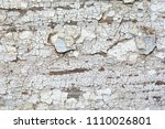 distressed texture of cracked... | Shutterstock . vector #1110026801