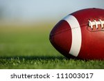 american football on the field... | Shutterstock . vector #111003017