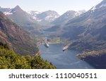 photo of geiranger fjord area ... | Shutterstock . vector #1110040511
