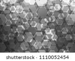 dark silver  gray vector... | Shutterstock .eps vector #1110052454