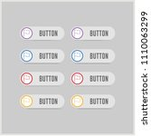 flag mark icon   free vector... | Shutterstock .eps vector #1110063299