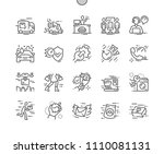fast service well crafted pixel ... | Shutterstock .eps vector #1110081131