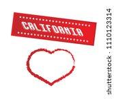california city slogan... | Shutterstock .eps vector #1110123314