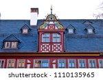 reconstructed half timpered... | Shutterstock . vector #1110135965