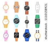 watch vector wristwatch for... | Shutterstock .eps vector #1110158921