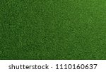 detailed green grass lawn... | Shutterstock . vector #1110160637