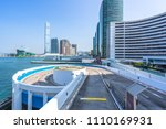 city skyline in hongkong china | Shutterstock . vector #1110169931