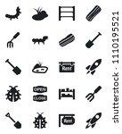 set of vector isolated black...   Shutterstock .eps vector #1110195521