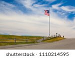 cape elizabeth  maine  usa ... | Shutterstock . vector #1110214595