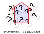 doubts  questions and...   Shutterstock . vector #1110229205