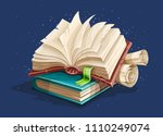 Magic Book From Fairy Tale Wit...