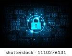 sophisticated digital... | Shutterstock .eps vector #1110276131