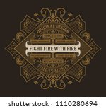 premium quality card. | Shutterstock .eps vector #1110280694