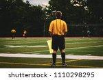 soccer football referee male... | Shutterstock . vector #1110298295