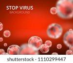 abstract vector healthcare... | Shutterstock .eps vector #1110299447