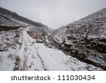 Snow Covered Mountain Walk