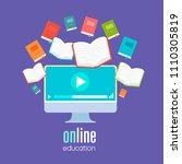 online education  online... | Shutterstock .eps vector #1110305819