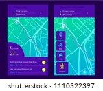 dashboard theme creative... | Shutterstock .eps vector #1110322397