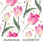seamless pattern with... | Shutterstock . vector #1110330737