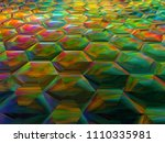 creative bright juicy... | Shutterstock . vector #1110335981