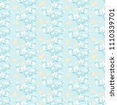 seamless pattern with... | Shutterstock .eps vector #1110339701