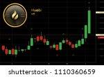 huobi token cryptocurrency coin ... | Shutterstock .eps vector #1110360659