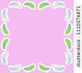cucumbers halftone pattern ... | Shutterstock . vector #1110376871