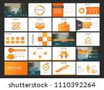 bundle infographic elements... | Shutterstock .eps vector #1110392264