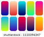 set of 10 vibrant gradients