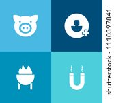 modern  simple vector icon set... | Shutterstock .eps vector #1110397841
