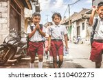 bali  indonesia   may 23  2018  ... | Shutterstock . vector #1110402275