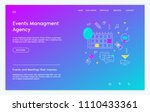 event agency website template....