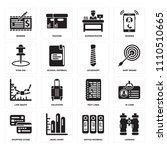 set of 16 icons such as looking ...