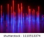 3d rendering  ultraviolet... | Shutterstock . vector #1110513374