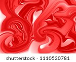abstract vector ink background. ... | Shutterstock .eps vector #1110520781