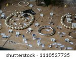display of assorted fashion... | Shutterstock . vector #1110527735