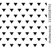 triangles. triangular shapes... | Shutterstock .eps vector #1110528701