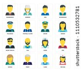 set of 16 icons such as med... | Shutterstock .eps vector #1110532781