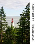 the historic point atkinson... | Shutterstock . vector #1110533099