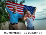 shot of a happy senior couple... | Shutterstock . vector #1110535484