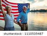shot of a happy senior couple... | Shutterstock . vector #1110535487