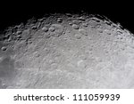 Picture Of The Moon Surface By...