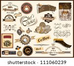 premium quality collection of... | Shutterstock . vector #111060239