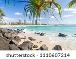 coolangatta beach looking... | Shutterstock . vector #1110607214
