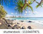 coolangatta beach looking... | Shutterstock . vector #1110607871