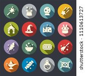 magic icon set | Shutterstock .eps vector #1110613727